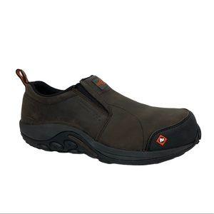 MERRELL | Jungle Leather Work Slip-On's Comp Toe